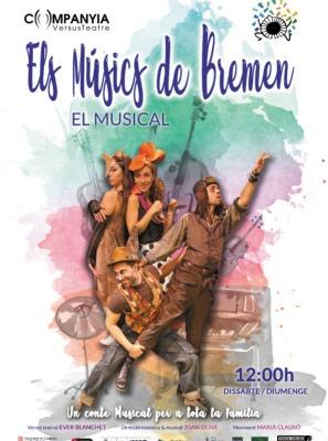 Cartell 'Els músics de Bremen'